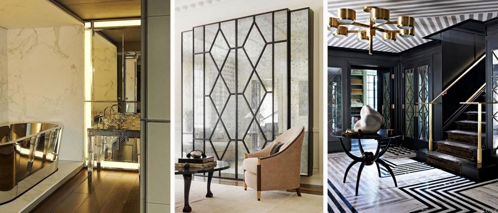 luxury bathroom at Inspirational Modern Art Deco Bathroom Designs